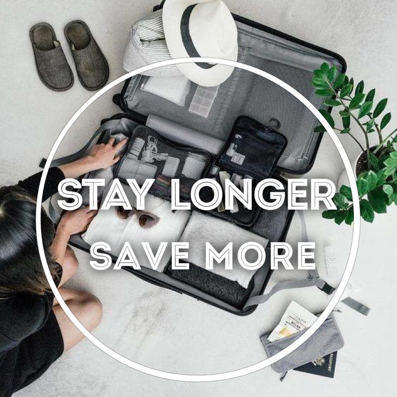 Stay Longer & Save More